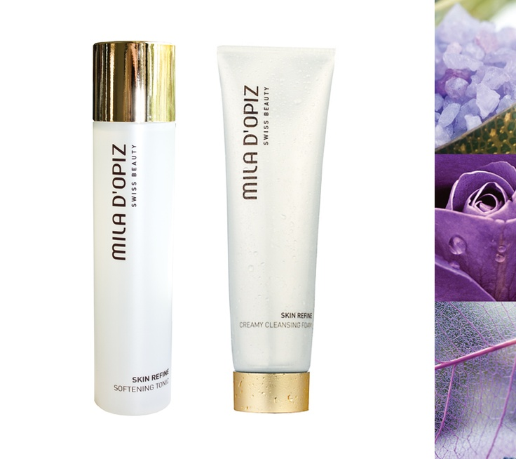 Mila d'Opiz Australia - Skin Refine Softening Tonic & Creamy Cleansing Foam. A rejuvenating elixir for the skin.