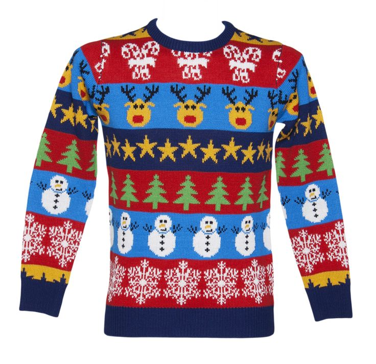 Unisex Retro Christmas Jumper from Cheesy Christmas Jumpers. Gotta have a fun christmas jumper
