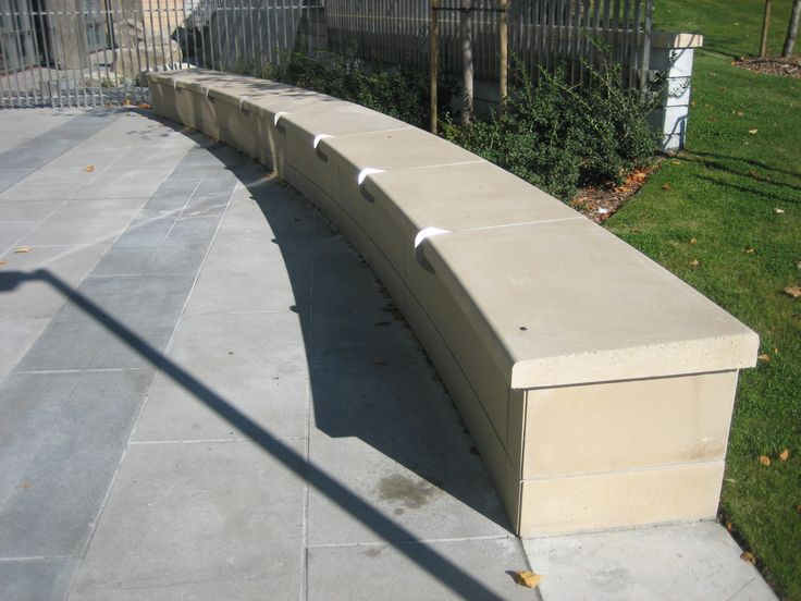 Precast Wall Coping : Precast concrete coping post caps wall and sills