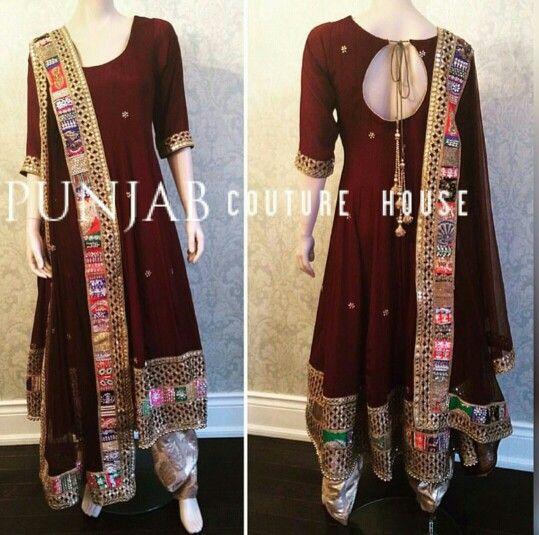Punjabi Suit by Punjab Couture House
