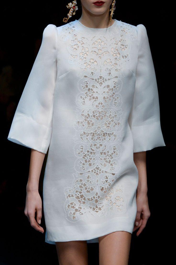 Dolce Gabbana Fall 2013 - details