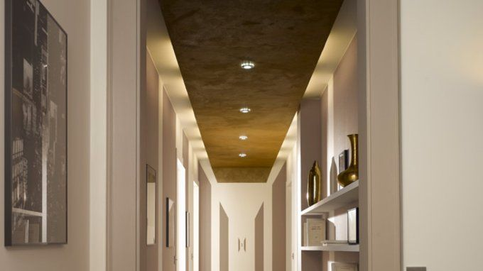 29 best images about plafond platre on pinterest plan de - Decoration couloir d entree ...