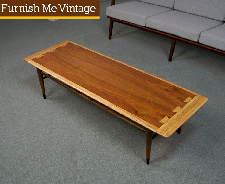 Refinished Vintage Lane Acclaim Coffee Table