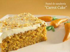 Pastel de zanahoria (Carrot Cake) | Recetas Thermomix | MisThermorecetas