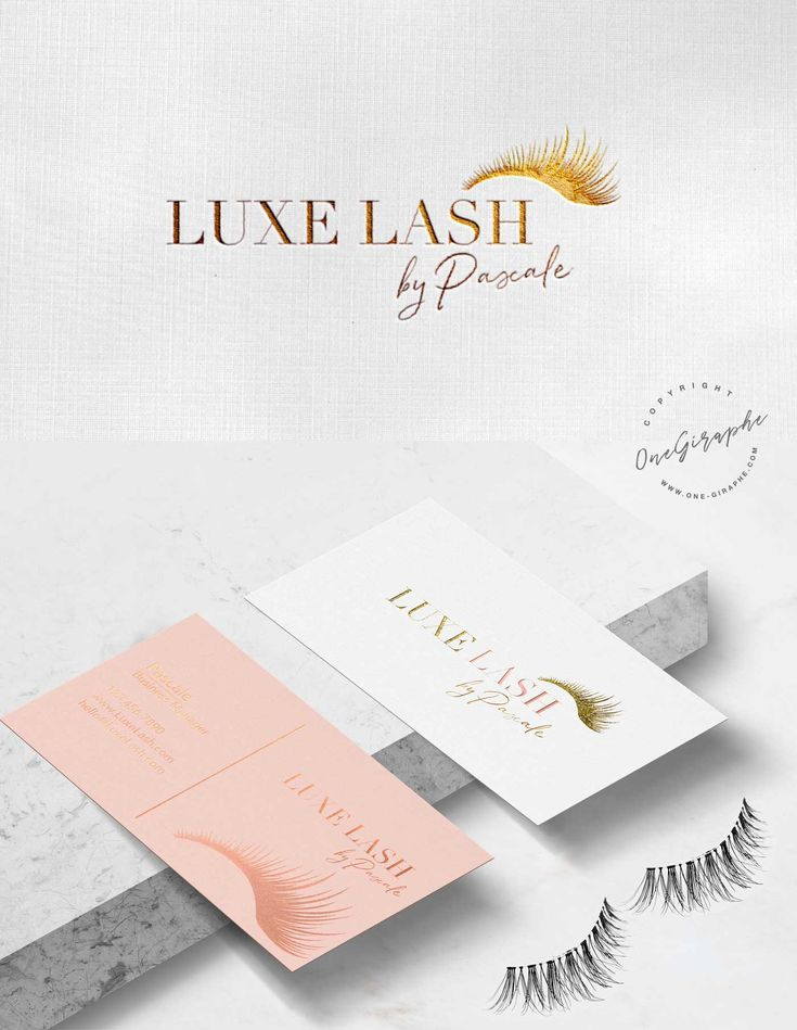 Branding for Lashes Company #lashes #lash #luxe #logo #branding #cosmetics #graphicdesign #logodesigner #etsy #behance