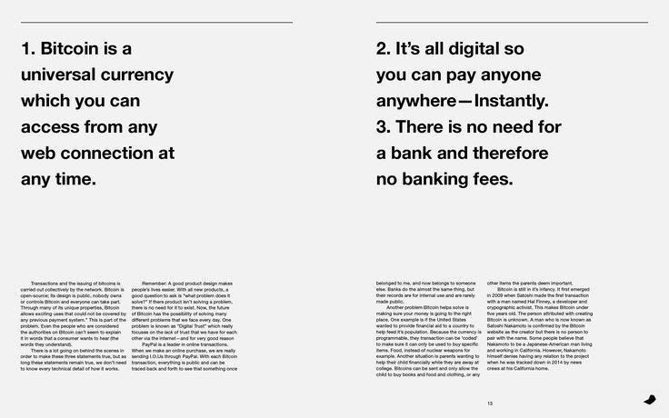 Bitcoin Graphic Identity on Behance