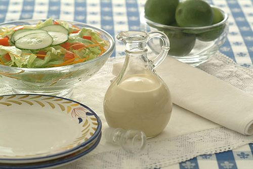 vinaigrette salad dressing recipes | Creamy Vinaigrette Dressing - Kidney-Friendly Recipes - DaVita