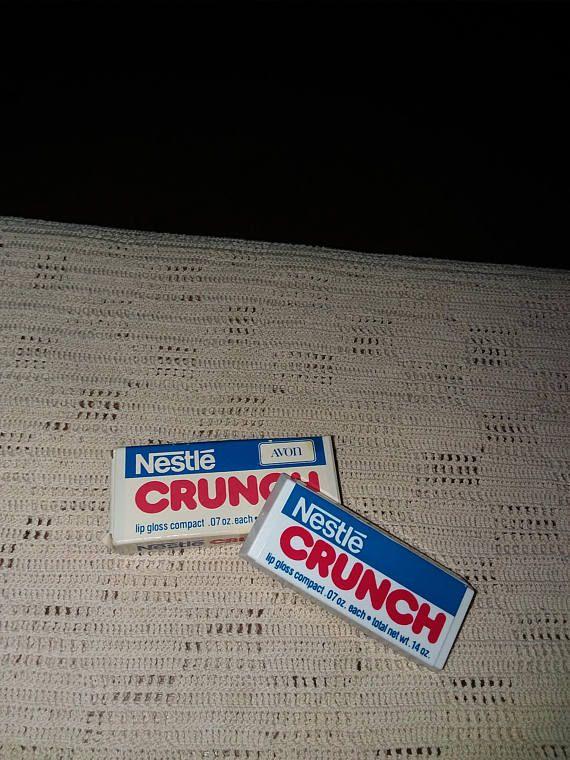 Avon Nestlé Crunch lipgloss compact
