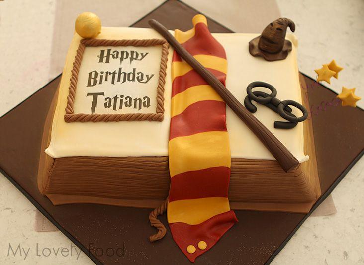 Tarta Harry Potter (Harry Potter Cake) para fiestas ...