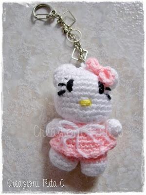 Creazioni Rita C. ... Only Handmade!: I miei Primi Esperimenti Amigurumi: Hello Kitty