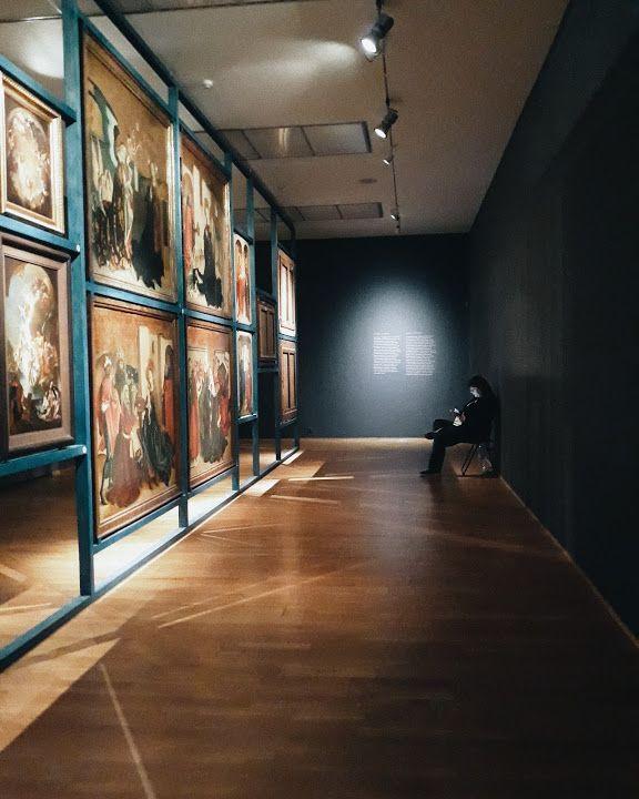 Slovak National Gallery - Bratislava, Slovakia - by Adelina S. Gray