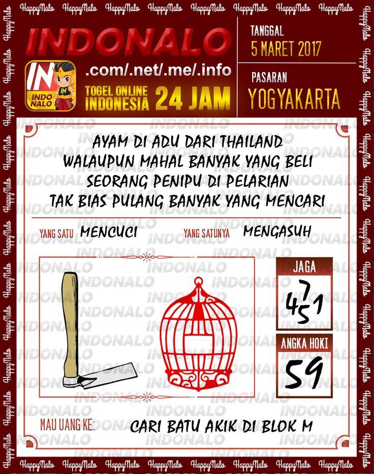 Prediksi 6D Togel Wap Online Indonalo Yogyakarta 5 Maret 2017