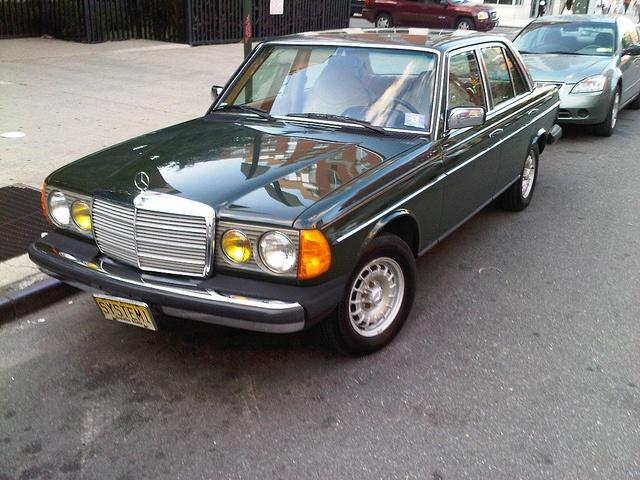 Spotless 1980s Mercedes Benz