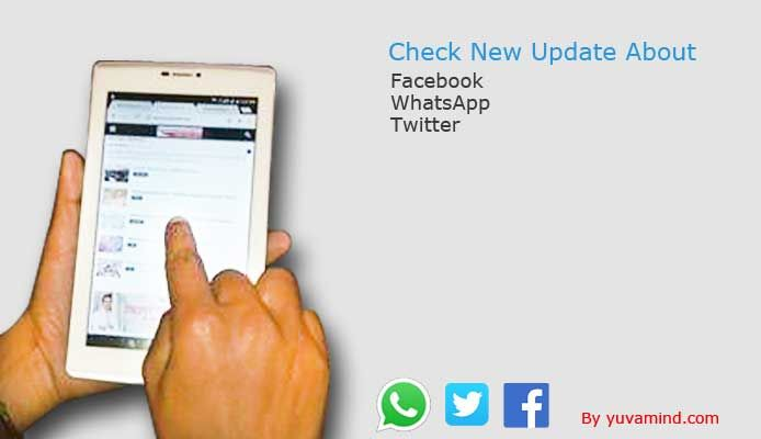 Tuned with the updates of Whatsapp, Facebook and Twitter grows tension