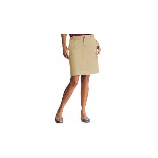 Old Navy Womens Khaki Perfect Khaki Pencil Skirts ($20) ❤ liked on Polyvore featuring skirts, old navy, pencil skirt, women, knee length pencil skirt, patch skirt, khaki pencil skirts and old navy skirts
