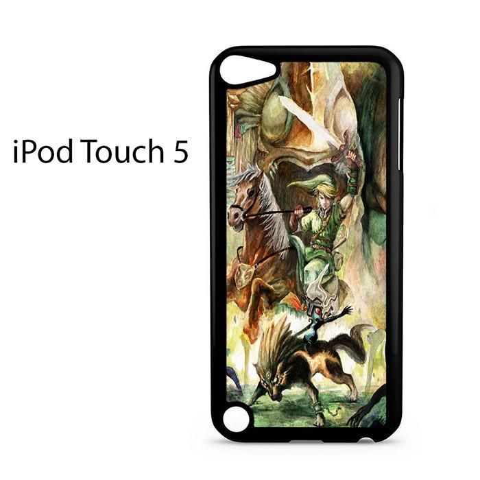 Princess Zelda Legend Of Zelda Art Ipod Touch 5 Case