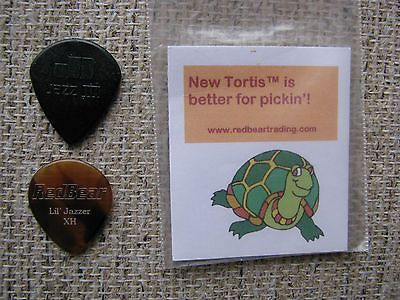 Red Bear Guitar Pick - Lil Jazzer XH - Lightly Used