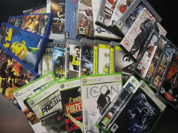 Kupię Gry - PS2 PS3 XBOX XBOX360 PS1SUPER NINTENDO NINTENDO 64 PC Opole