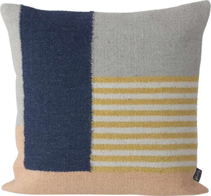 Kelim White Lines Cushion