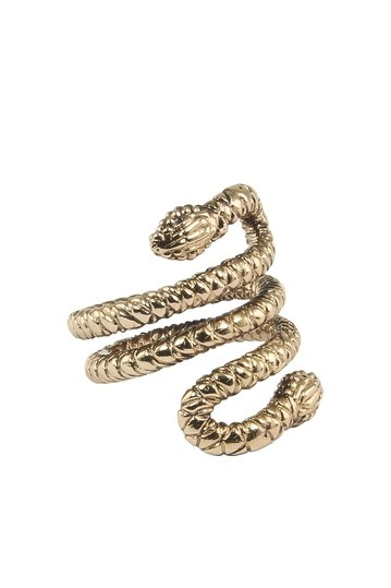 Wildfox Couture - WILDFOX - FOXY DOUBLE HEADED SNAKE RING wildfox wildfoxcoutureuk