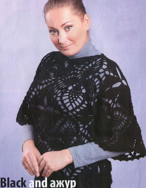 Вязание свитера больших размеров