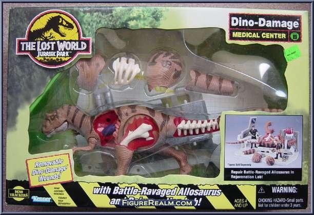 Kenner jurassic park the lost world dino damage medical center 1997 the toy box pinterest - Dinosaure de jurassic park ...