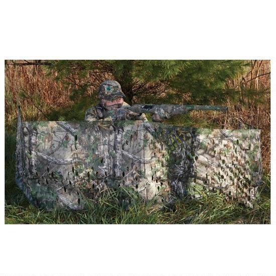 "Hunter Specialties Portable Folding Ground Blind 12' x27"" Realtree Xtra Green 07216"