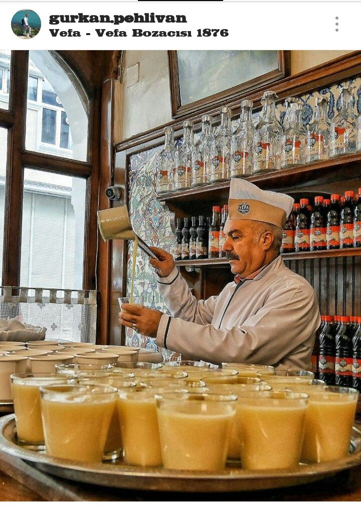 Turkish Boza-Türkiye