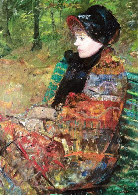 Mary Cassatt - Mademoiselle Lydia Cassatt, 1880 at Petit Palais (Paris Fine Art Museum) Paris France | Flickr - Photo Sharing!