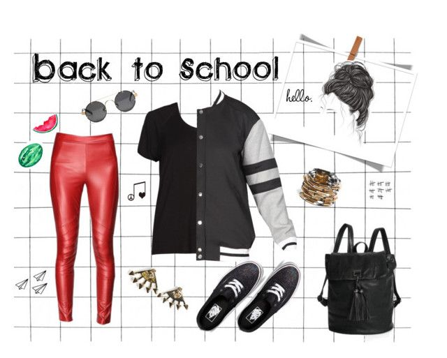 """Back to School"" by styligion on Polyvore"