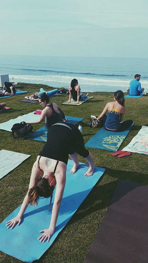 Join us for beach yoga at our Seaside Spring Renewal Retreat April 9-12 at the Beacon House Inn Bed & Breakfast!