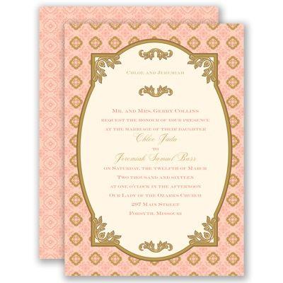 14 best Formal Invitations images on Pinterest Formal invitations - formal invitation style