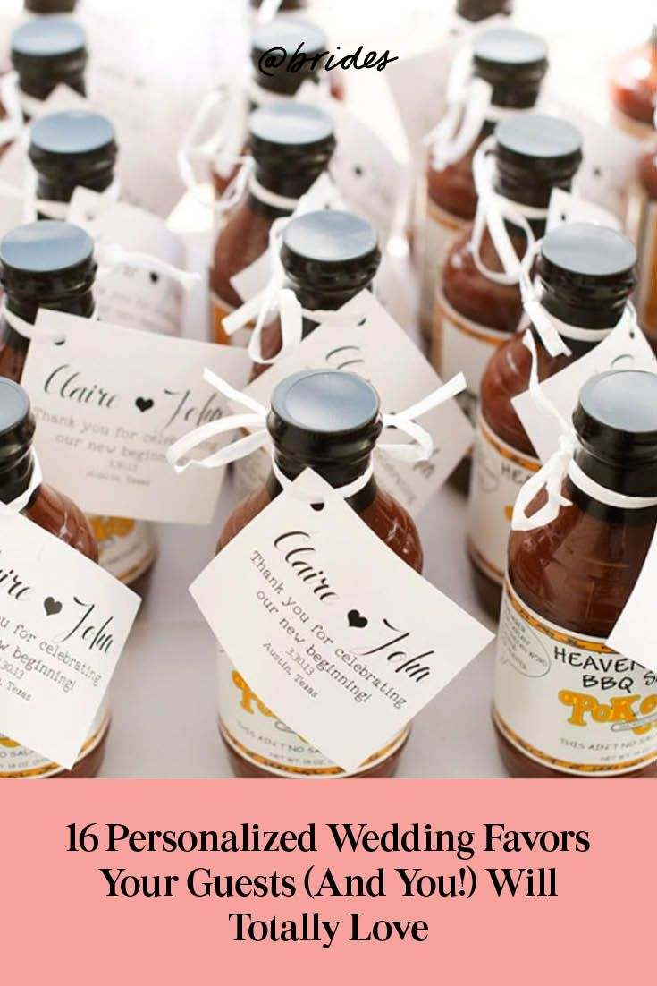 20 Personalized Wedding Favors Your Guests Will Love Personalized Wedding Favors Wedding Gifts For Guests Rustic Wedding Favors