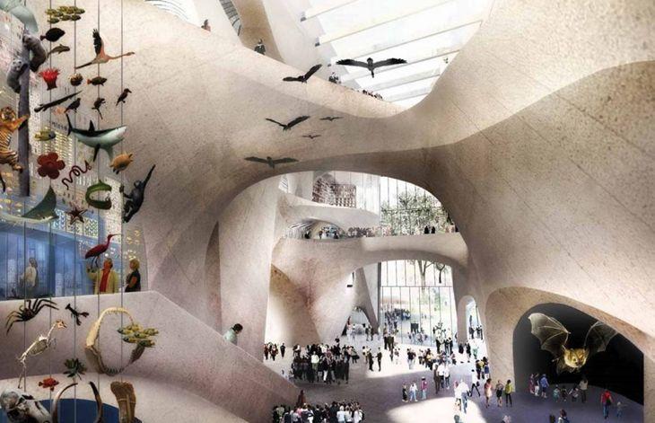Amerika Doğa Tarihi Müzesi'ne Yeni Bina