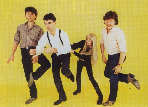 Talking Heads -  This must be the Place. Love everything Talking Heads, but this track is just out there genius:  http://www.youtube.com/watch?v=vf2s7UHUrBw