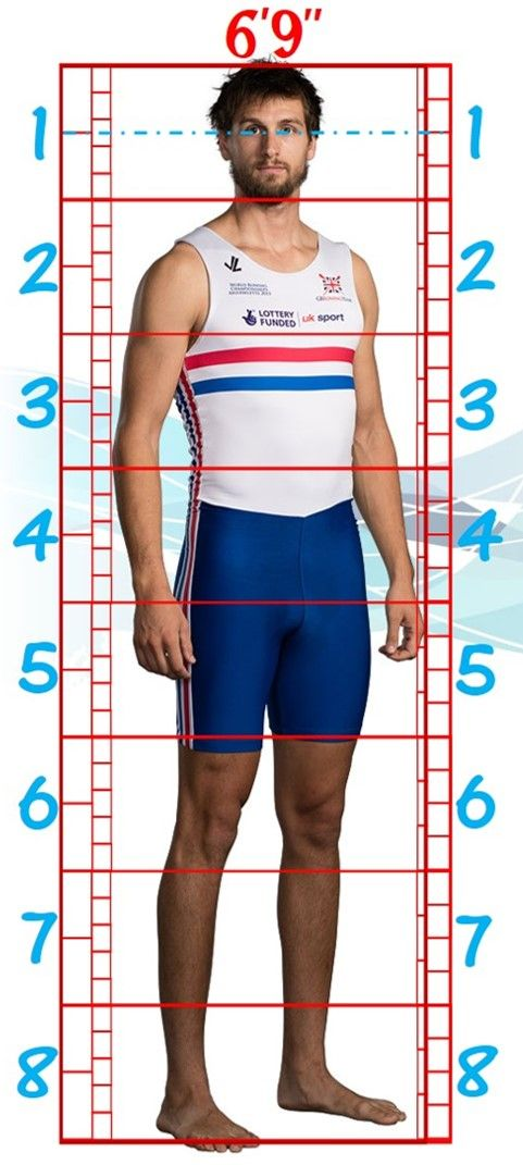 Human Proportions Study. Paul Bennett. by WaffleJockey.deviantart.com on @DeviantArt. #Proportions #Male #ArtReference #ArtTemplate #Olympics #Row #Team #Rower #BodyTypes #Body #Types #Full #Length #Figure #Chart
