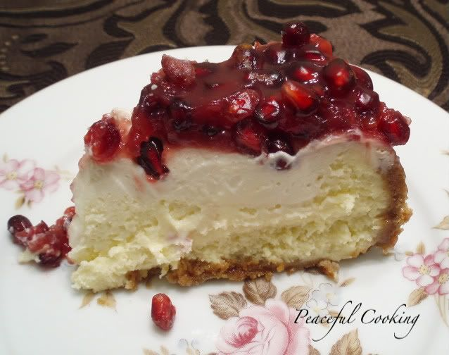 pomegranate-cheesecake
