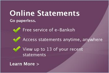 e bankoh online sign in
