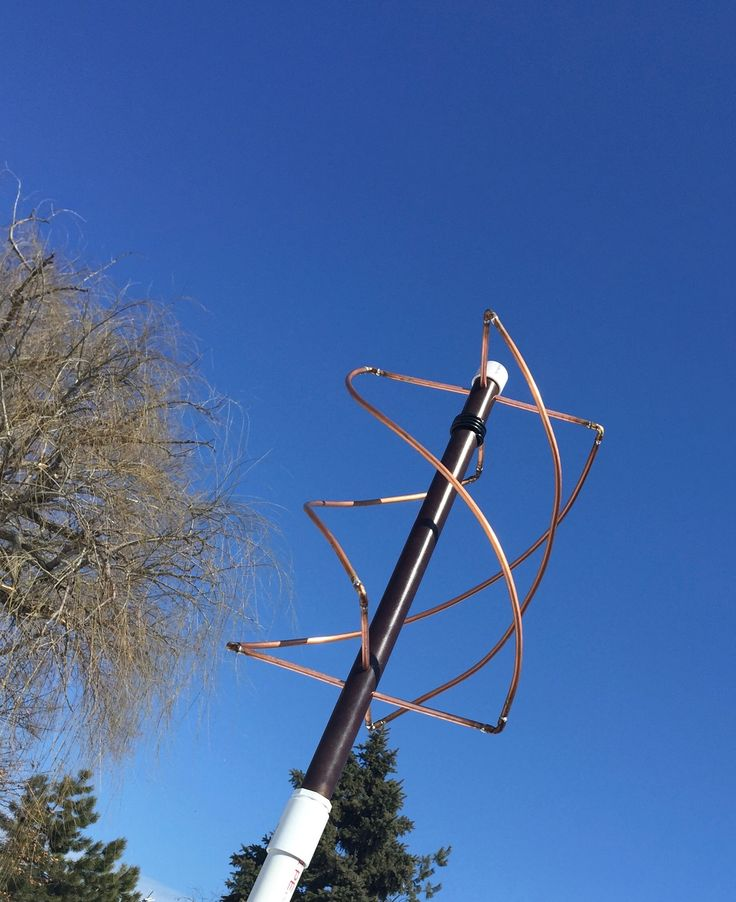 How To Build A QFH (Quadrifilar Helix Antenna) to Download Images From Weather Satellites » TinHatRanch