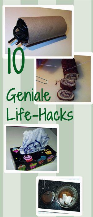Diese Life-Hacks machen das Leben sooo viel leichter: http://www.gofeminin.de/wohnen/life-hacks-s1424827.html #lifehacks