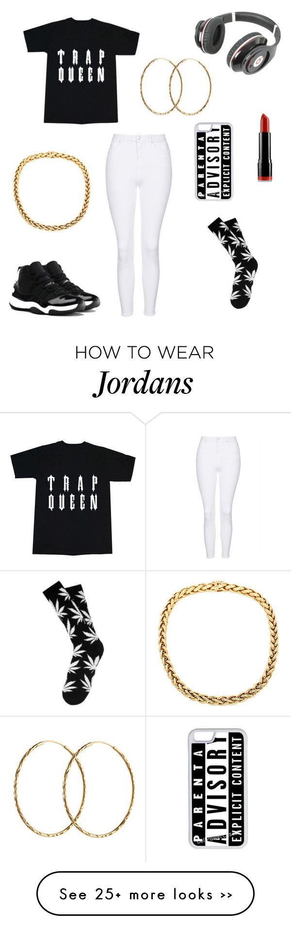 """Untitled #185"" by kawaii2cute on Polyvore featuring Beats by Dr. Dre, Topshop, NYX, NIKE, Pernille Corydon and CellPowerCases"