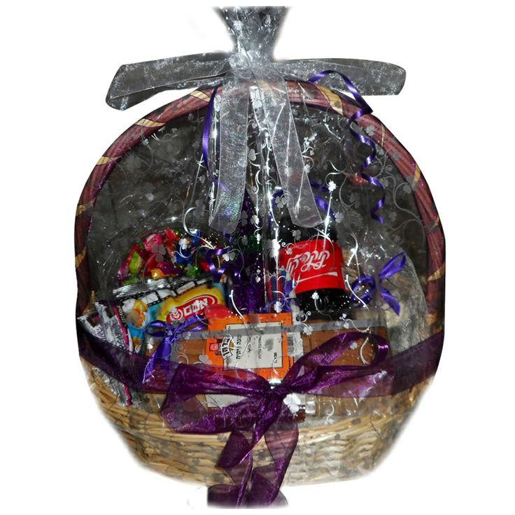 RDD Birthday Bash basket with cake