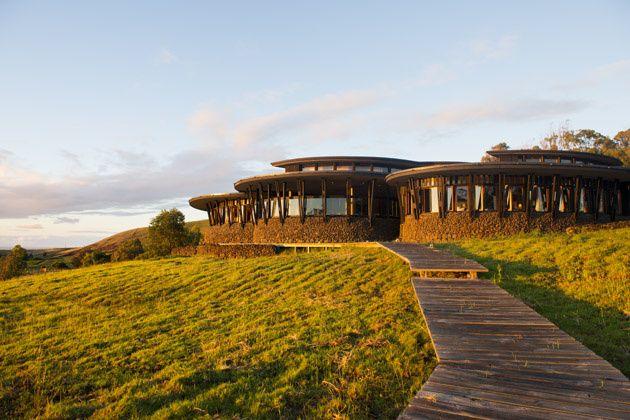 L'hôtel Explora, Rapa Nui, Île de Pâques