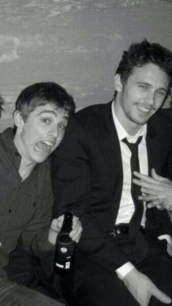 James and Dave Franco.