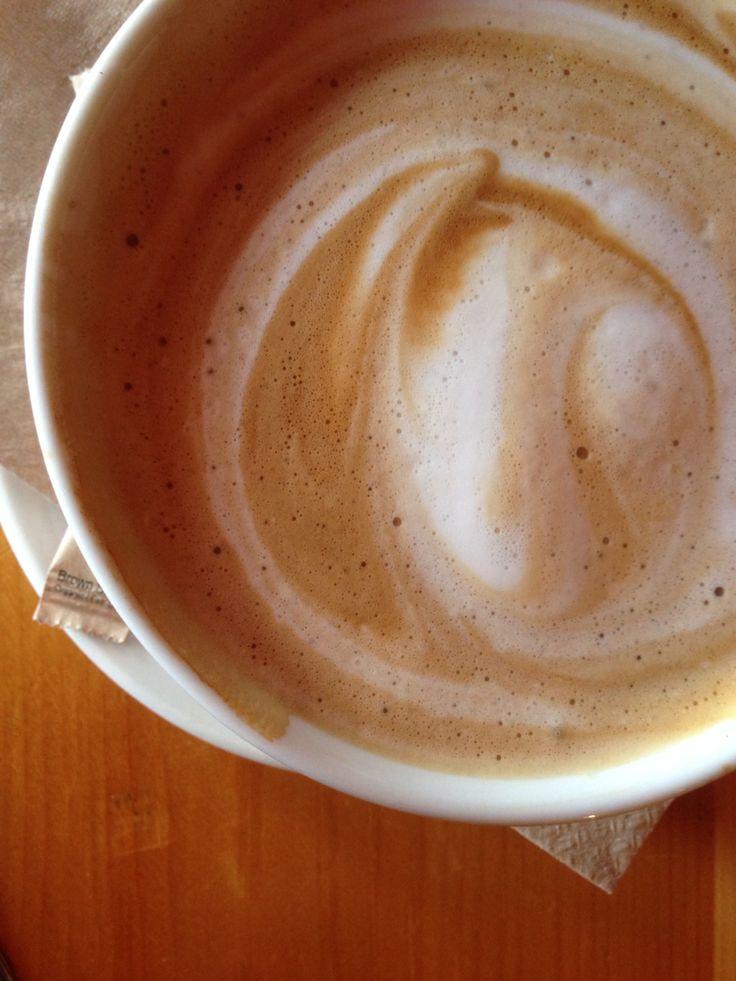 Ahhhh un bon bol de café au lait !!!