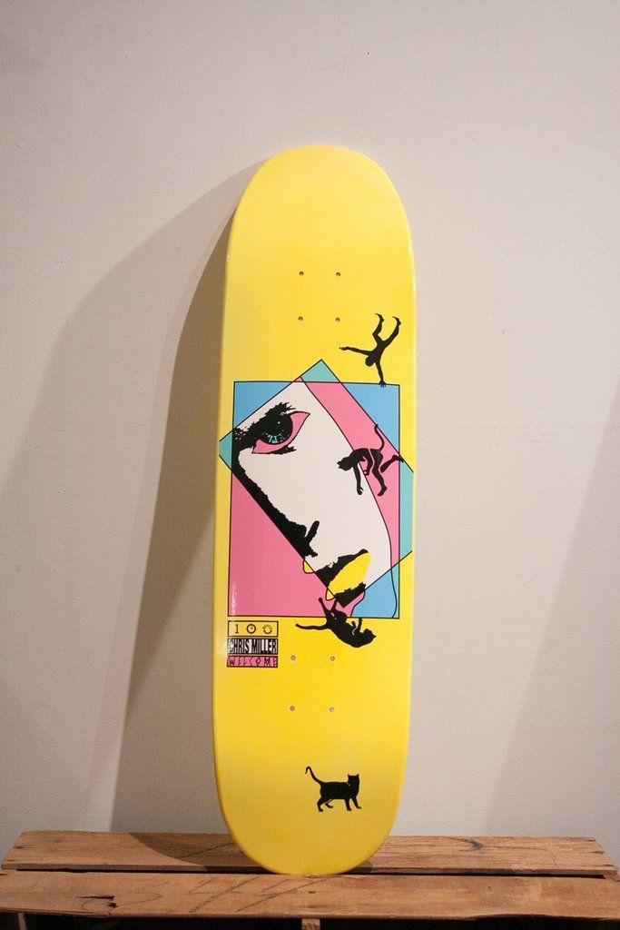"""Welcome skateboards - Chris Miller """"Faces"""" on Catblood"""