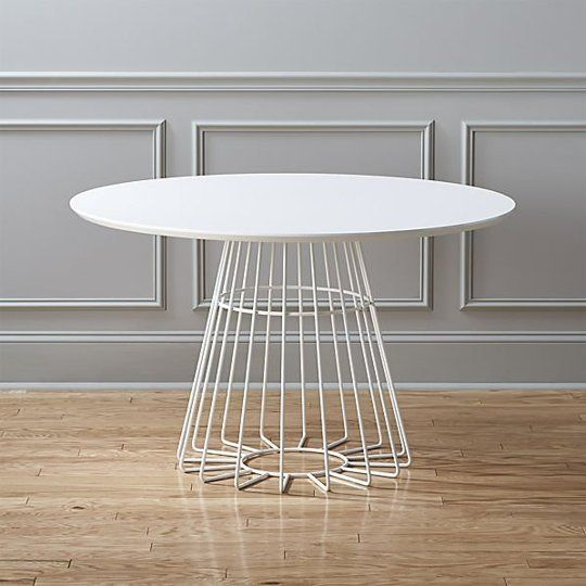 "Modern Round Dining Tables: West Elm, Tom Dixon, IKEA, & More — Annual Guide 2015 - update on existing UM kitchen table, maybe better for ""nook"" mtg space?"
