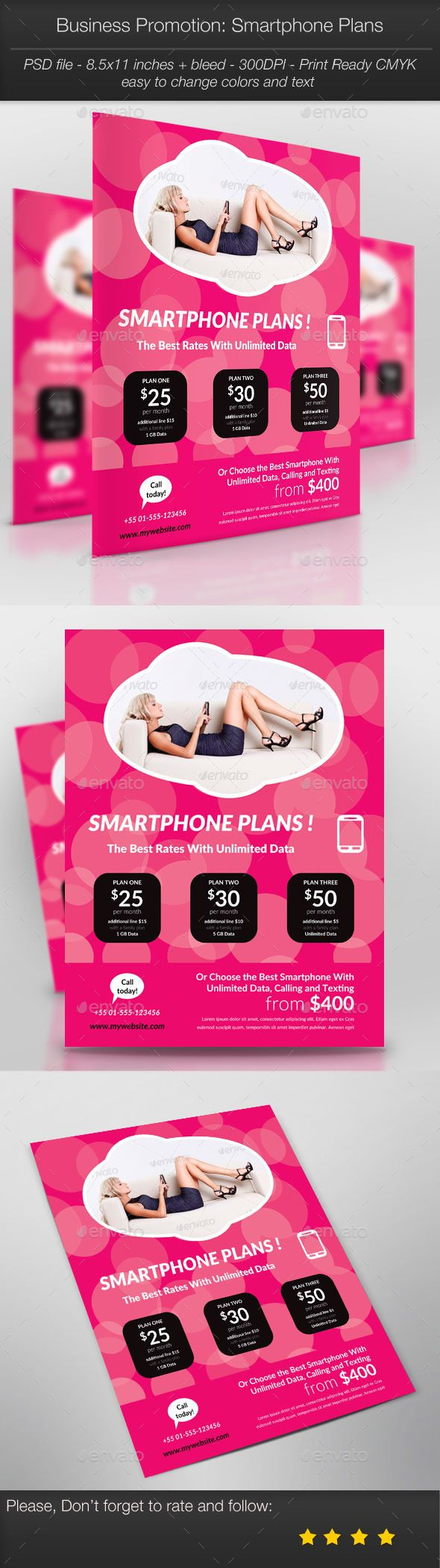 Business Promotion: Smartphone Plans