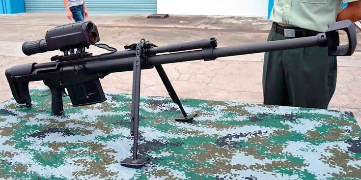 Крупнокалиберная снайперская винтовка QBU-10