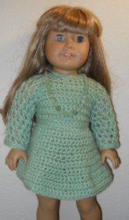 American Girl Crochet Spring Dress